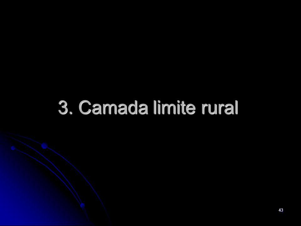 3. Camada limite rural
