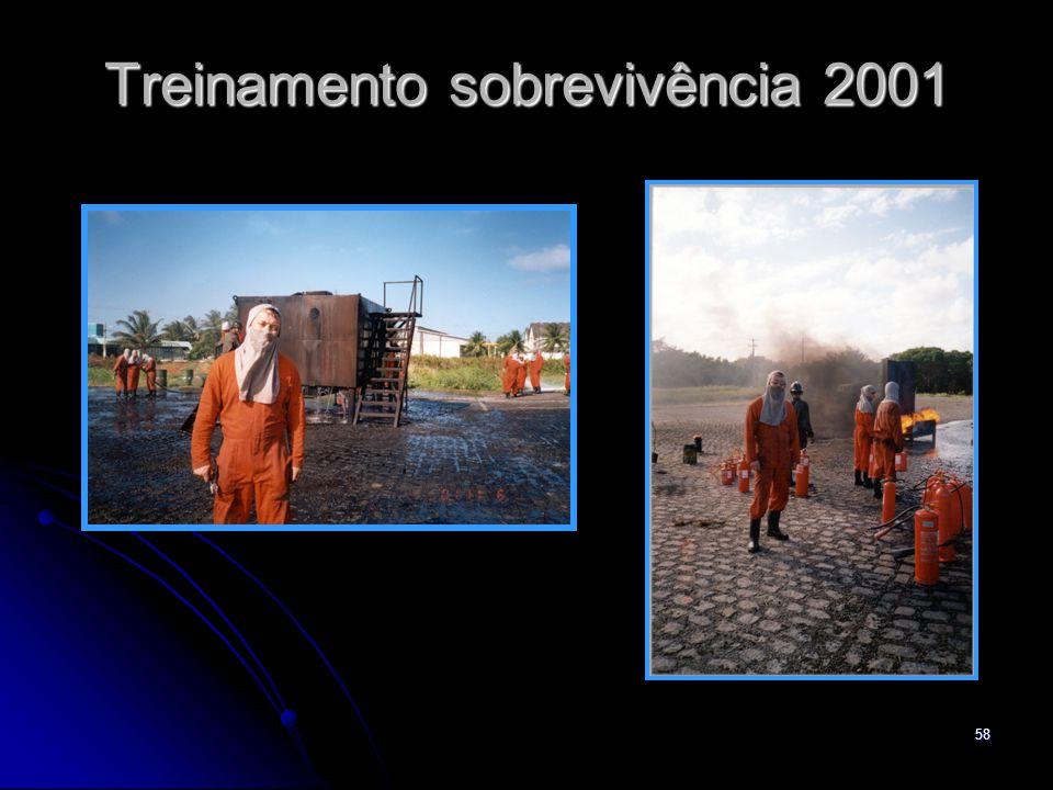 Treinamento sobrevivência 2001