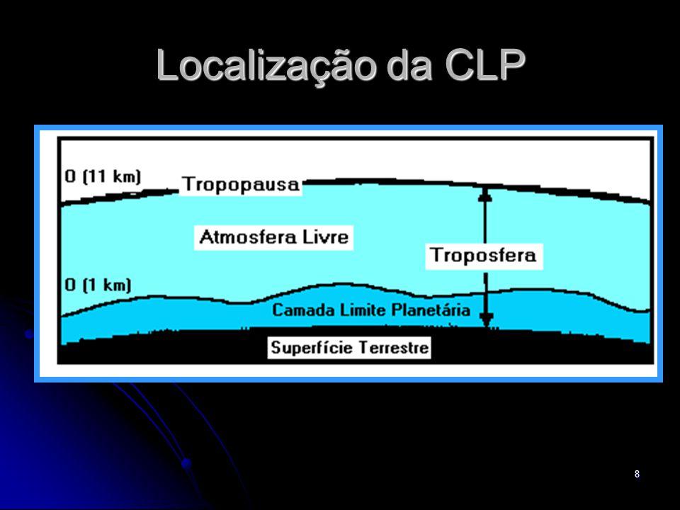 Localização da CLP