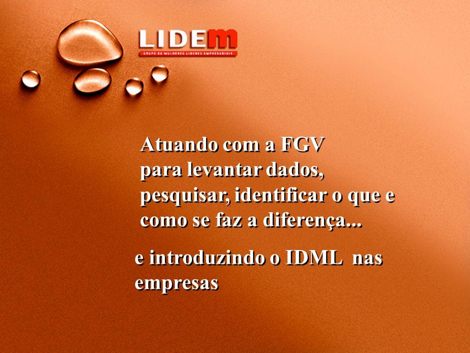 e introduzindo o IDML nas empresas