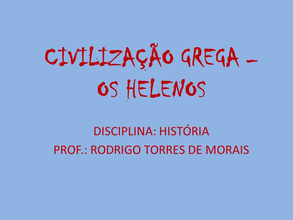 PROF.: RODRIGO TORRES DE MORAIS