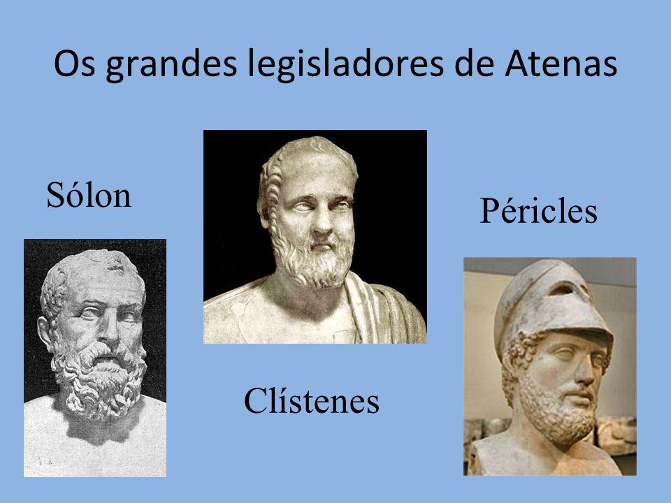 Os grandes legisladores de Atenas