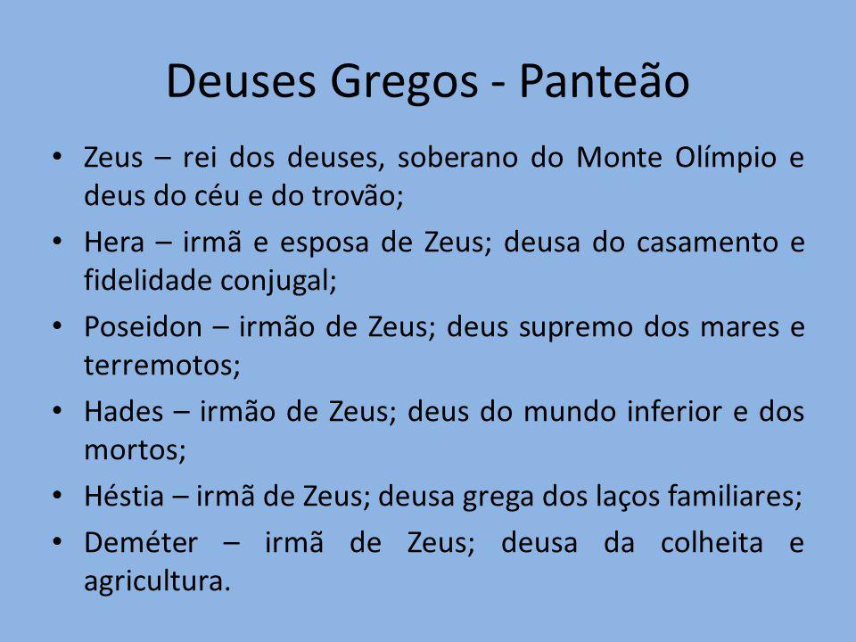 Deuses Gregos - Panteão