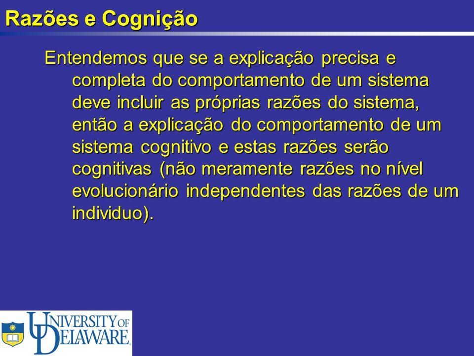 Razões e Cognição