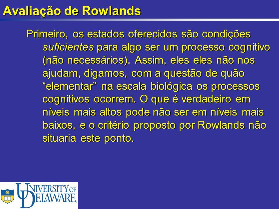 Avaliação de Rowlands