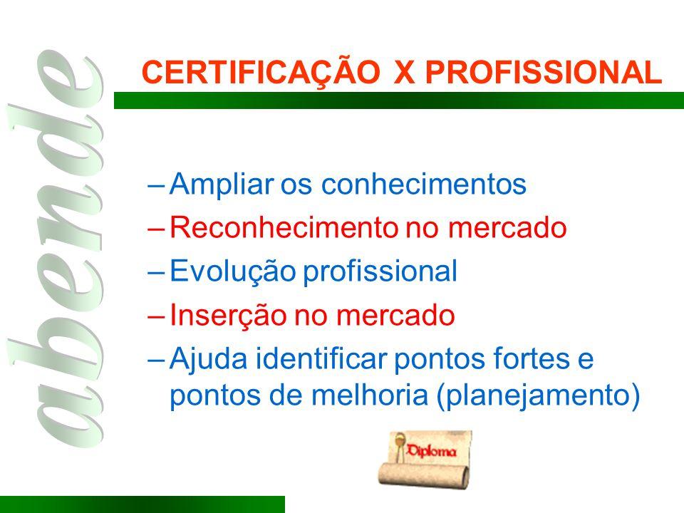 CERTIFICAÇÃO X PROFISSIONAL