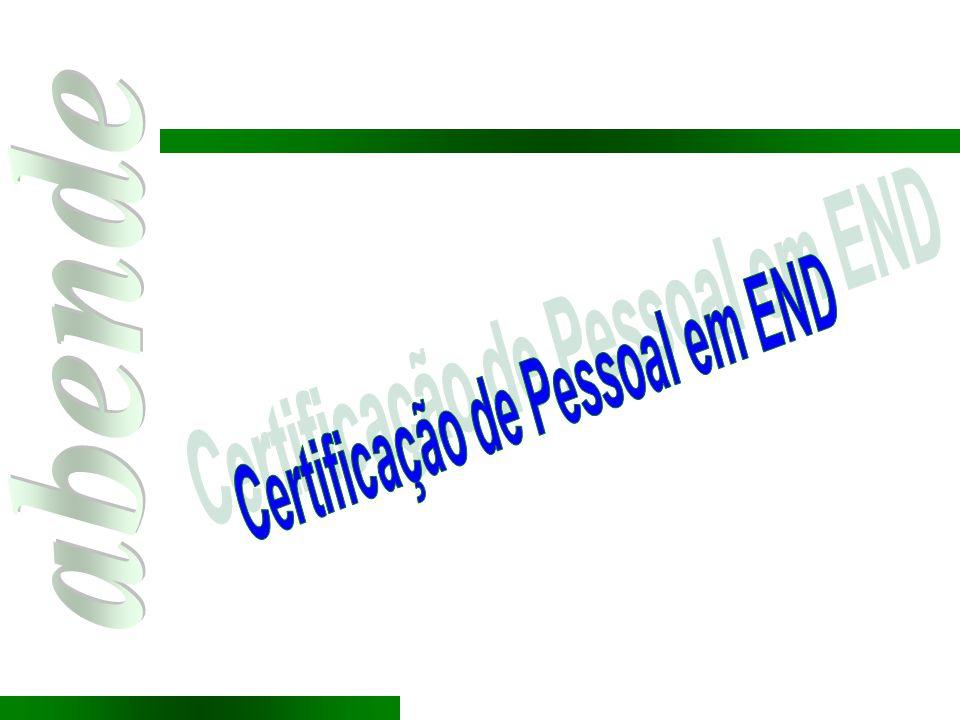 Certificação de Pessoal em END