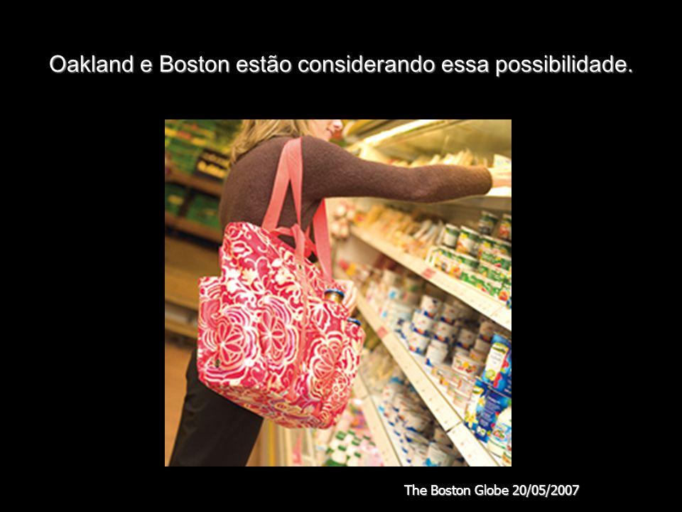 Oakland e Boston estão considerando essa possibilidade.