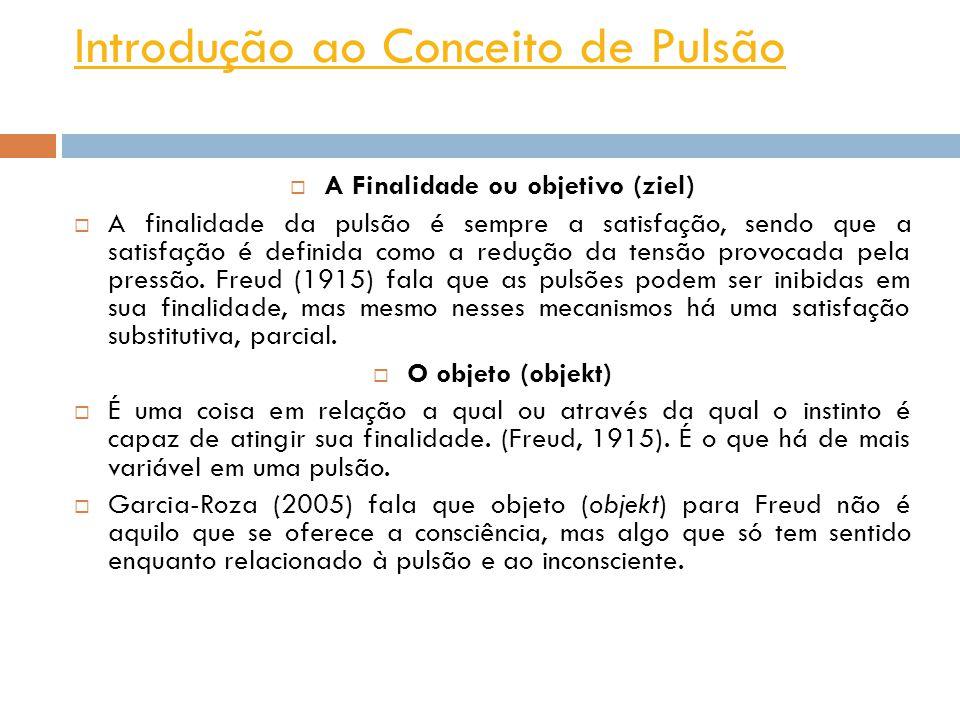 Introdução ao Conceito de Pulsão