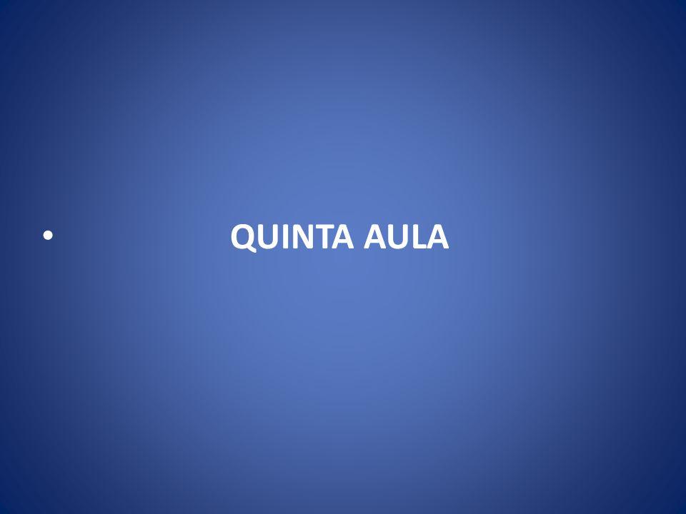 QUINTA AULA