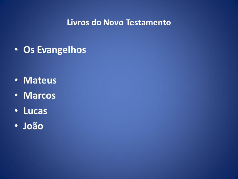 Livros do Novo Testamento