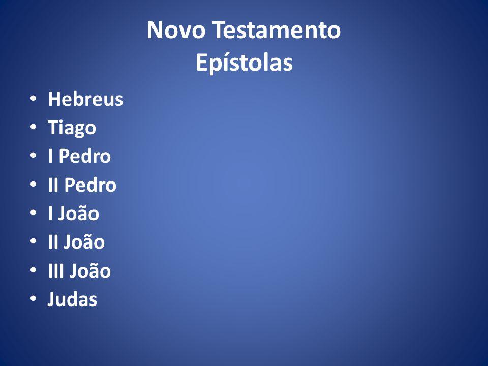Novo Testamento Epístolas