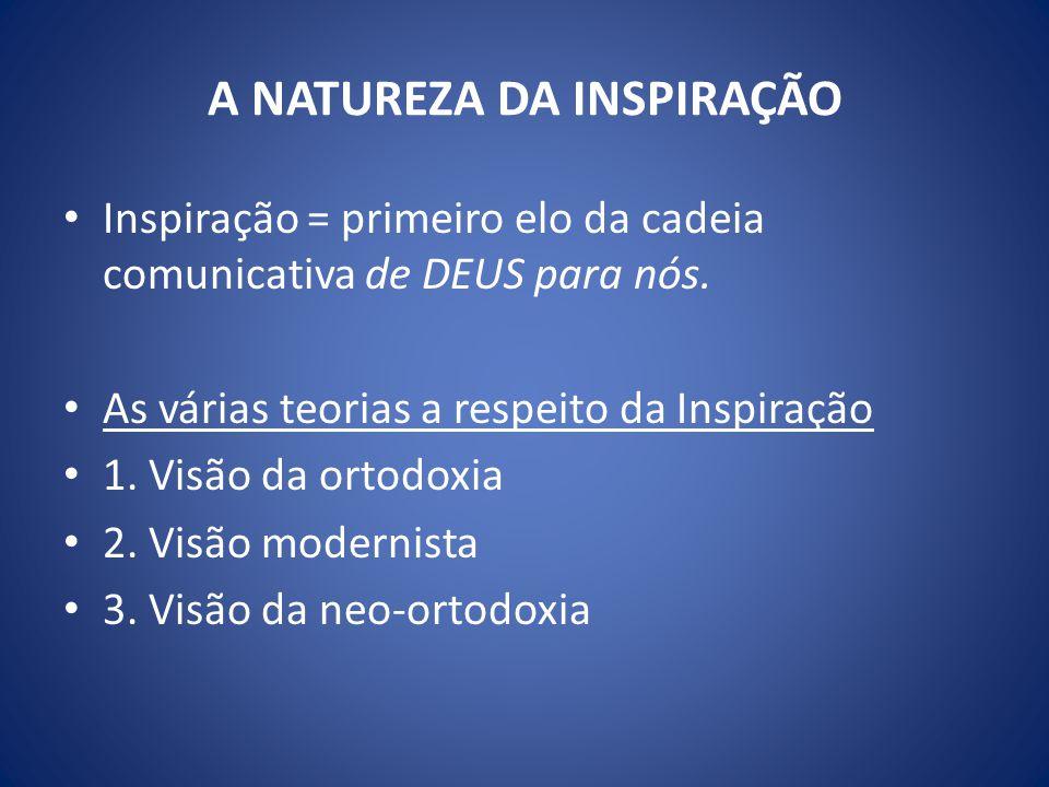 A NATUREZA DA INSPIRAÇÃO