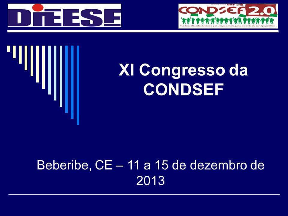 XI Congresso da CONDSEF