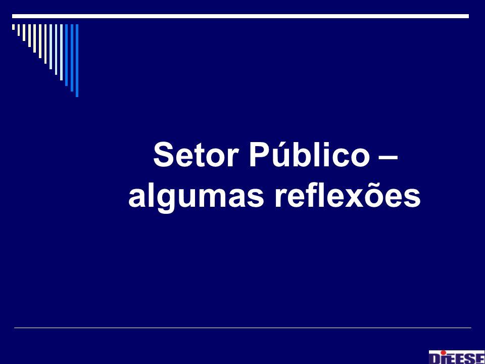 Setor Público – algumas reflexões