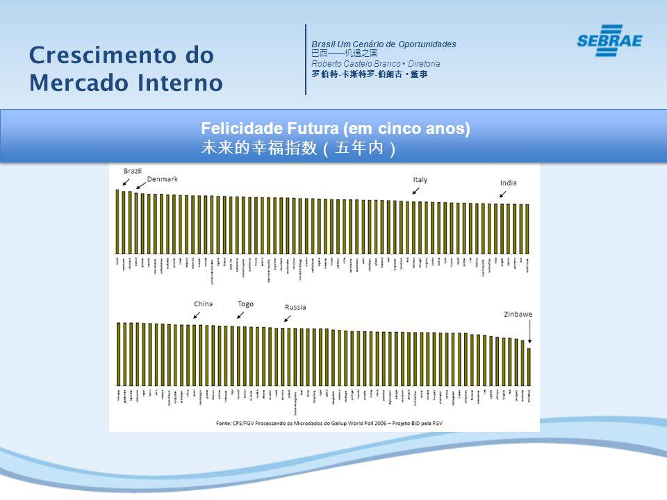 Crescimento do Mercado Interno 国内市场的增长