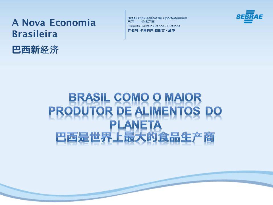 Brasil como o Maior Produtor de Alimentos do Planeta