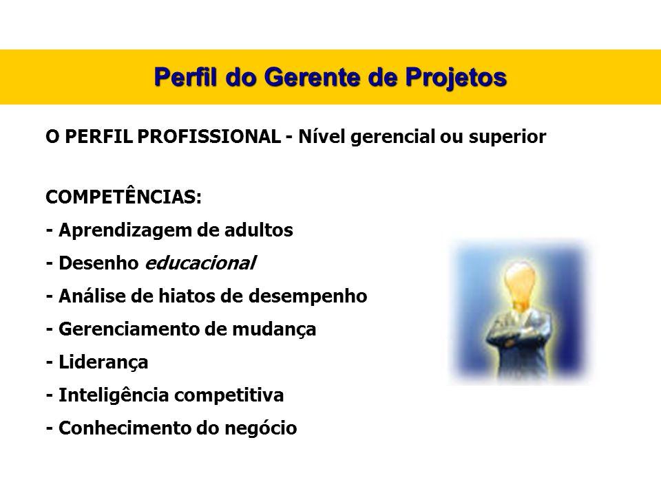 Perfil do Gerente de Projetos