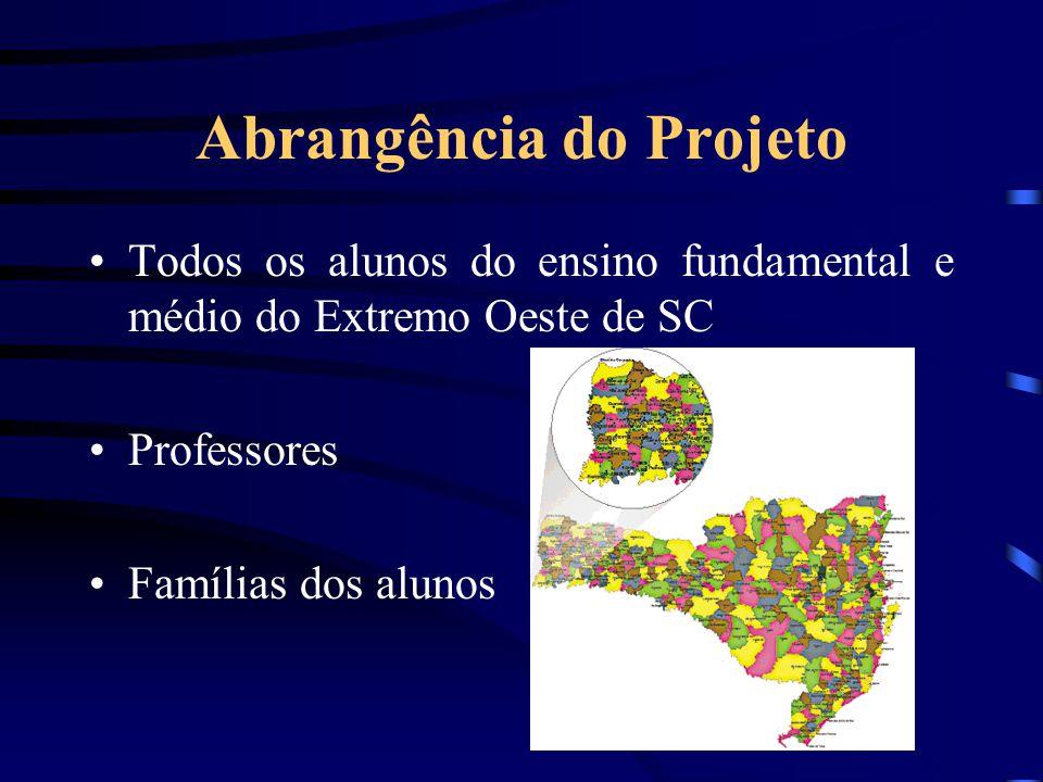 Abrangência do Projeto