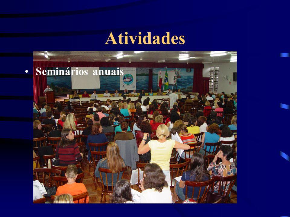 Atividades Seminários anuais