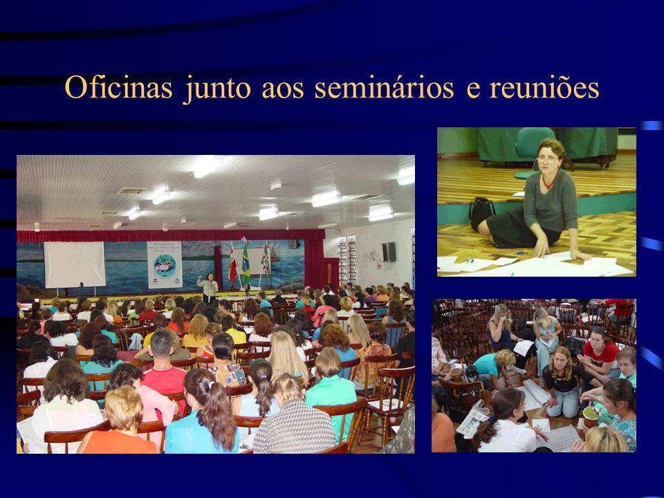 Oficinas junto aos seminários e reuniões