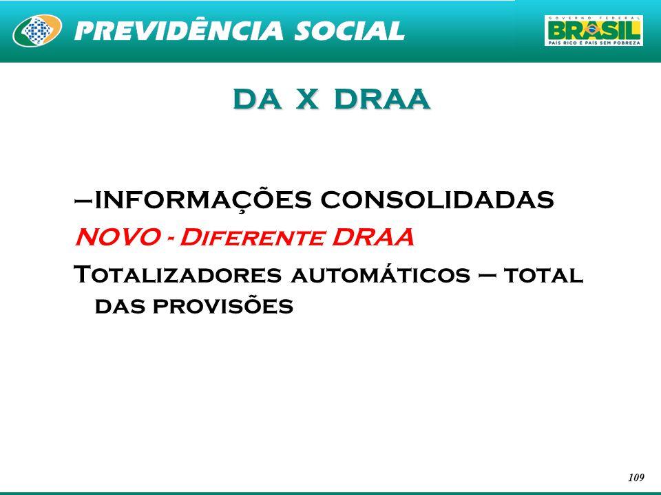 DA X DRAA INFORMAÇÕES CONSOLIDADAS NOVO - Diferente DRAA