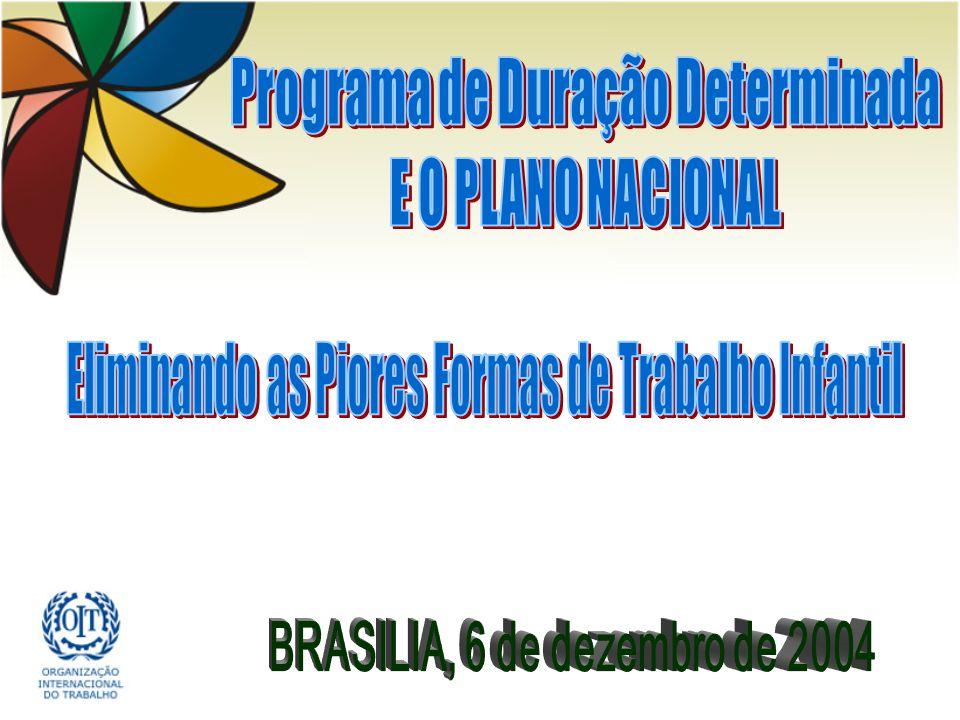 Programa de Duração Determinada BRASILIA, 6 de dezembro de 2004