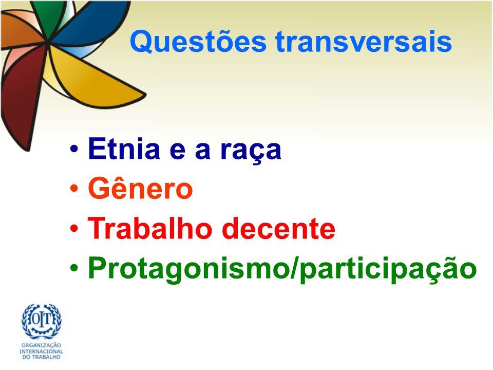 Questões transversais