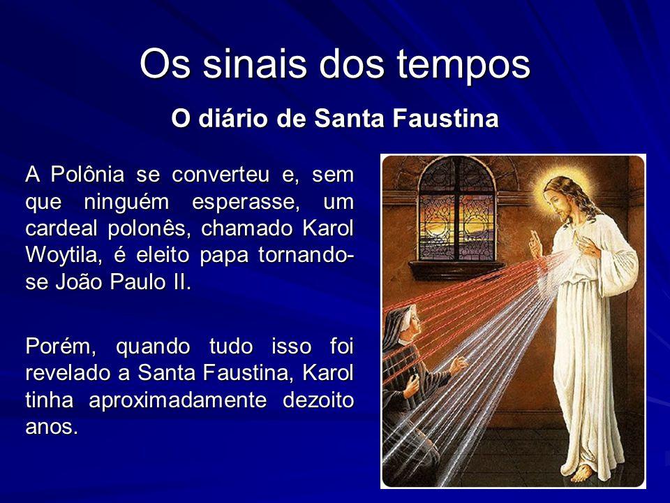 O diário de Santa Faustina
