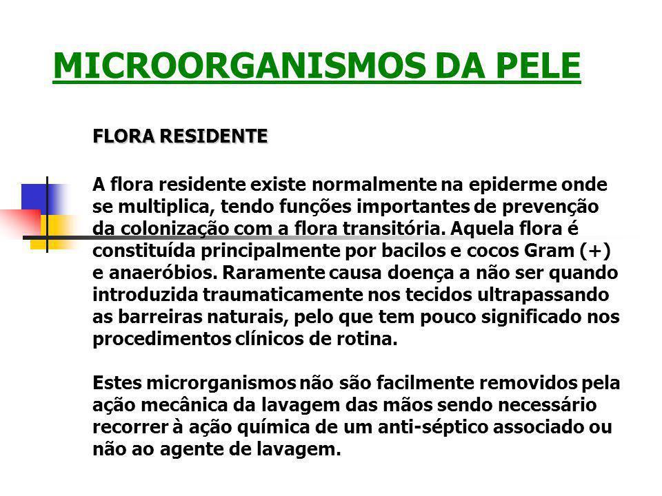 MICROORGANISMOS DA PELE