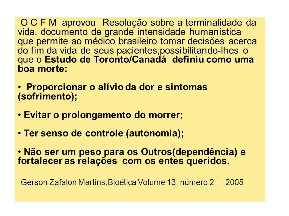 Gerson Zafalon Martins,Bioética Volume 13, número 2 - 2005