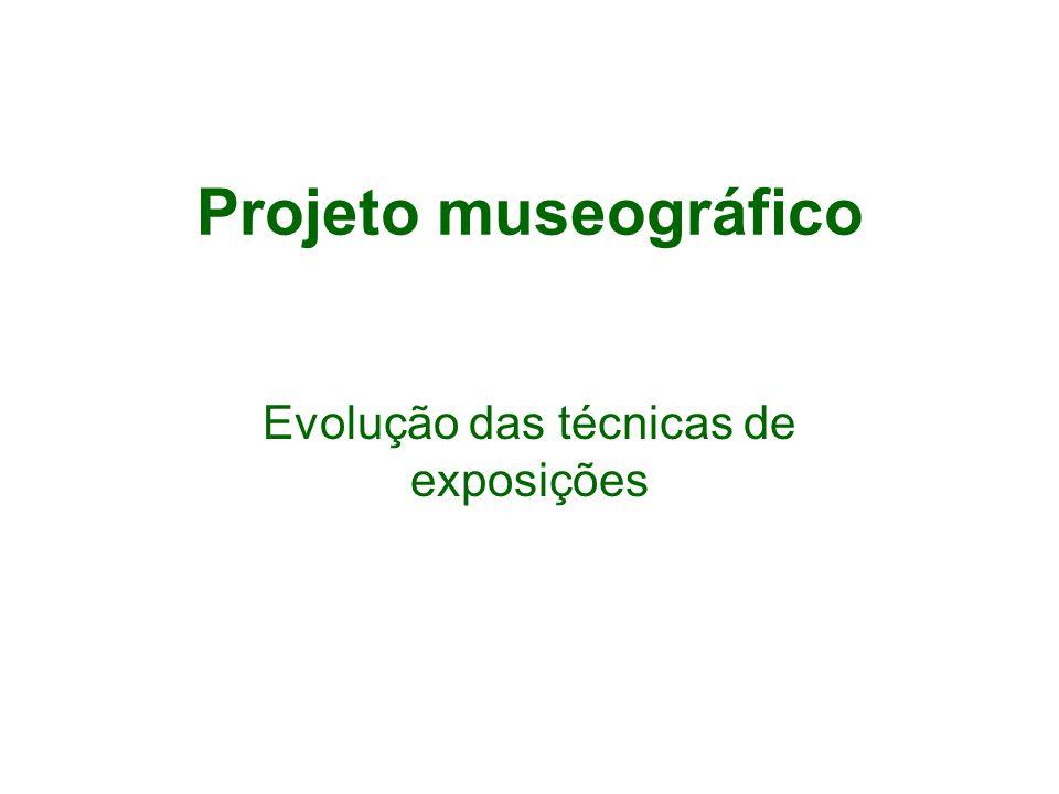 Evolução das técnicas de exposições