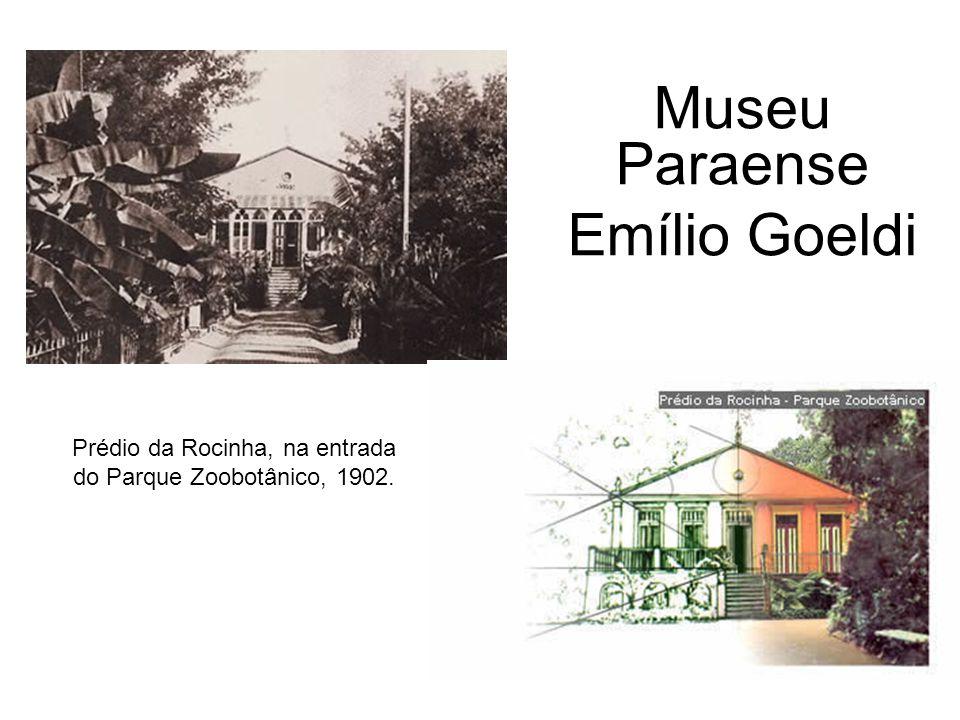 Prédio da Rocinha, na entrada do Parque Zoobotânico, 1902.
