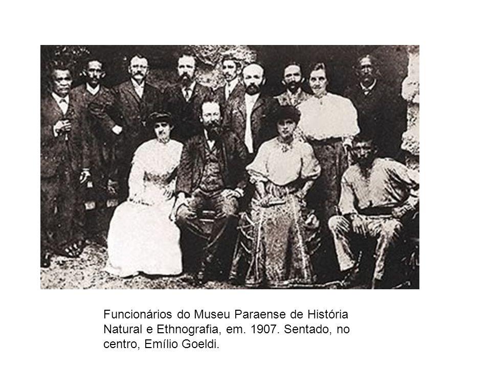 Funcionários do Museu Paraense de História Natural e Ethnografia, em