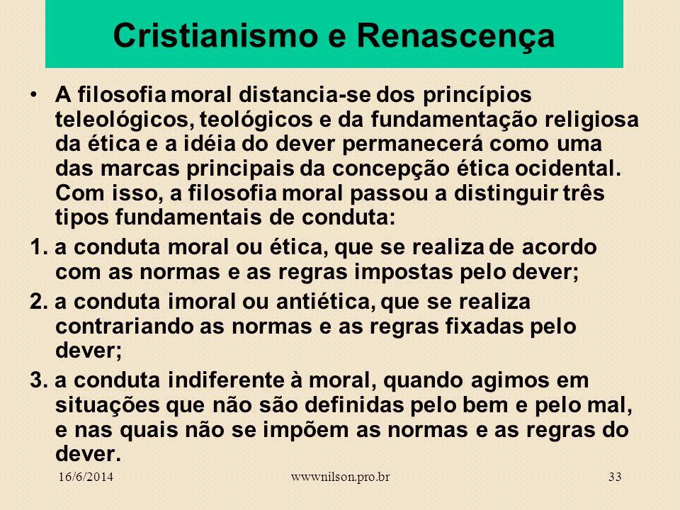 Cristianismo e Renascença