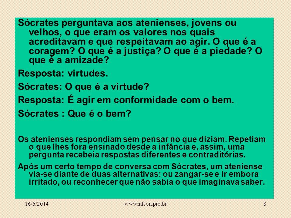 Sócrates: O que é a virtude