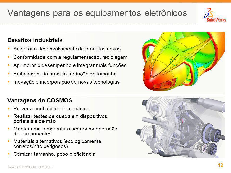 Vantagens para os equipamentos eletrônicos