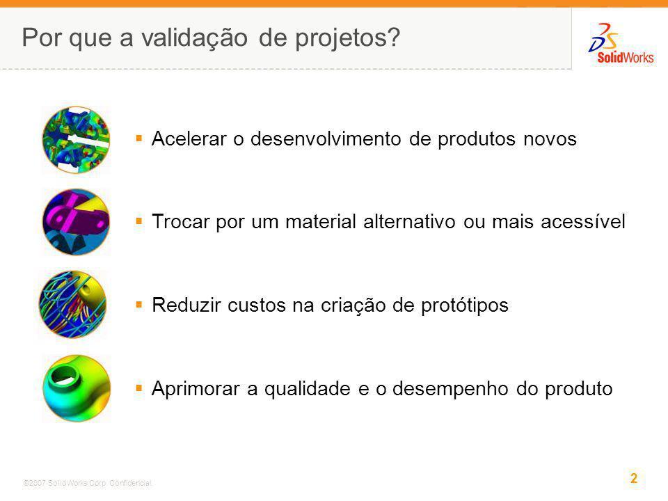 Por que a validação de projetos