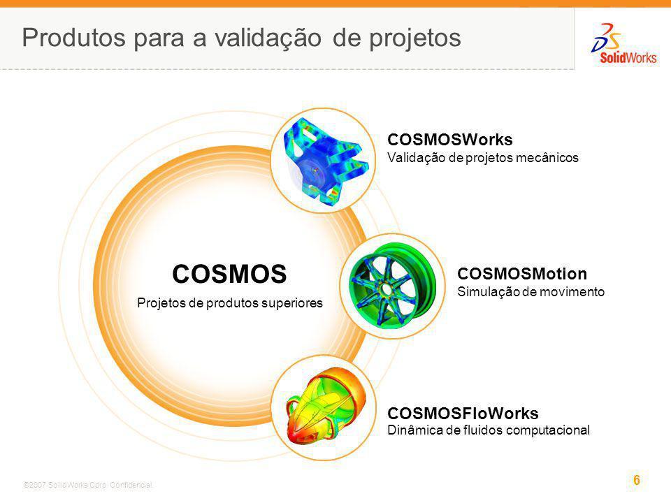 Produtos para a validação de projetos