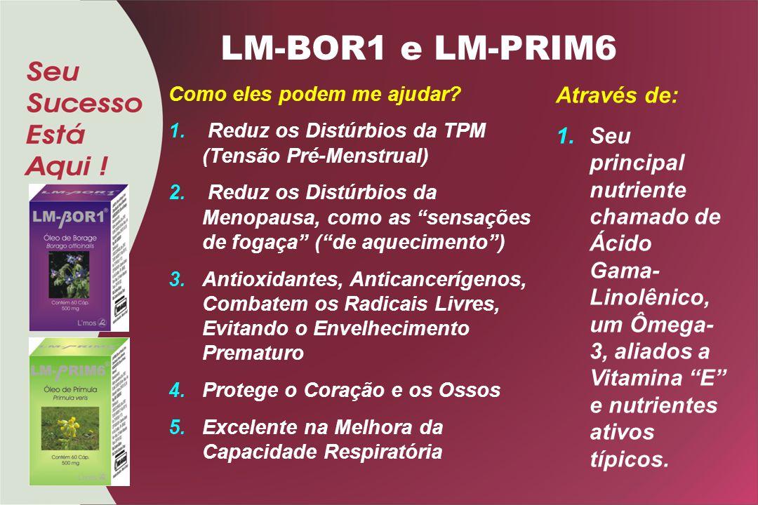 LM-BOR1 e LM-PRIM6 Através de: