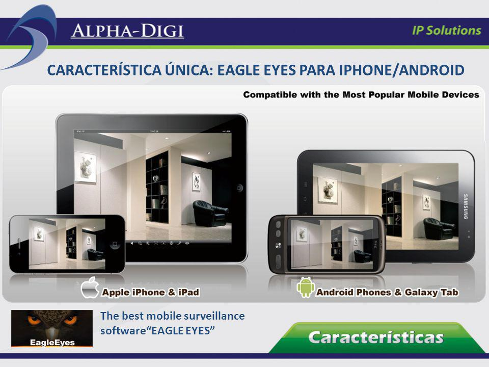 Característica única: Eagle Eyes para iPhone/Android