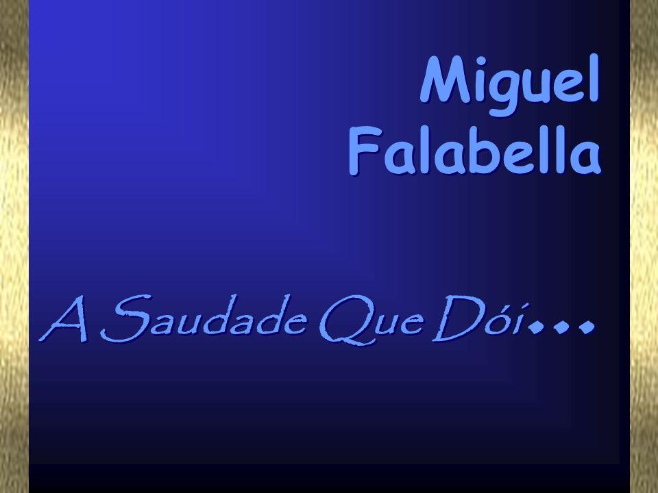 Miguel Falabella A Saudade Que Dói...