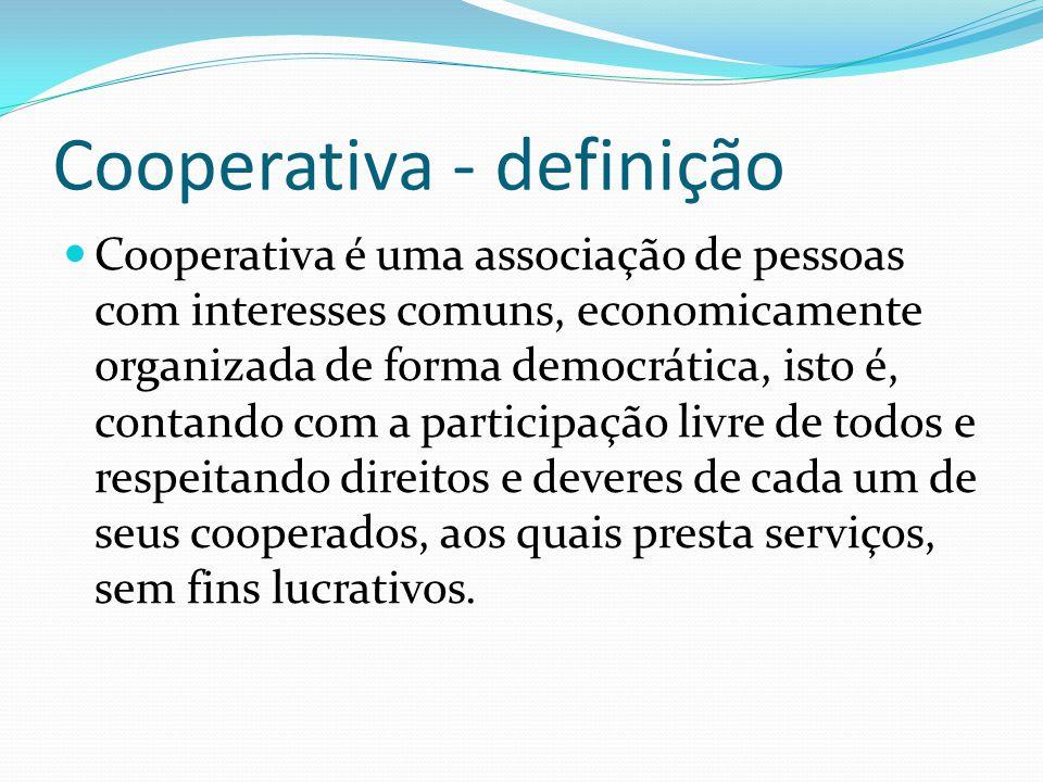 Cooperativa - definição