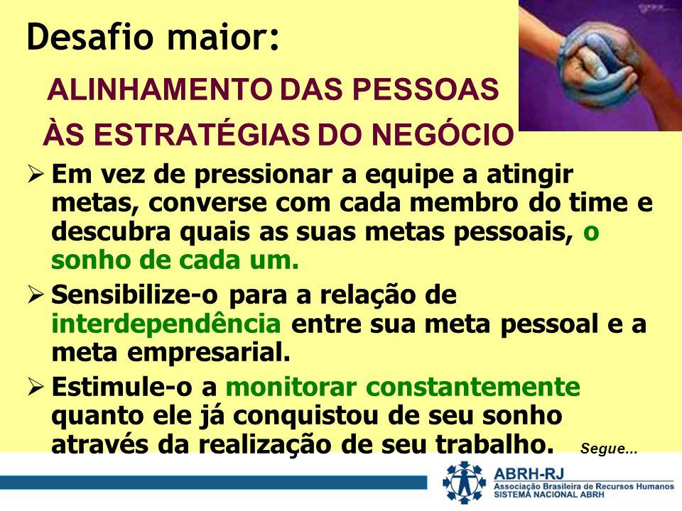 ALINHAMENTO DAS PESSOAS