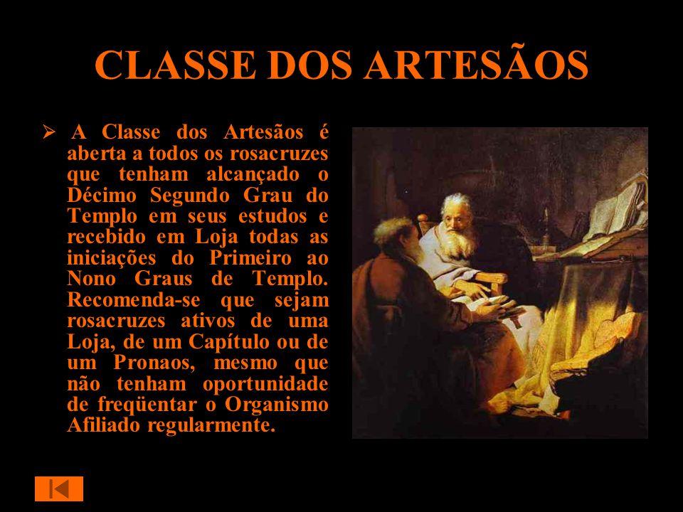 CLASSE DOS ARTESÃOS