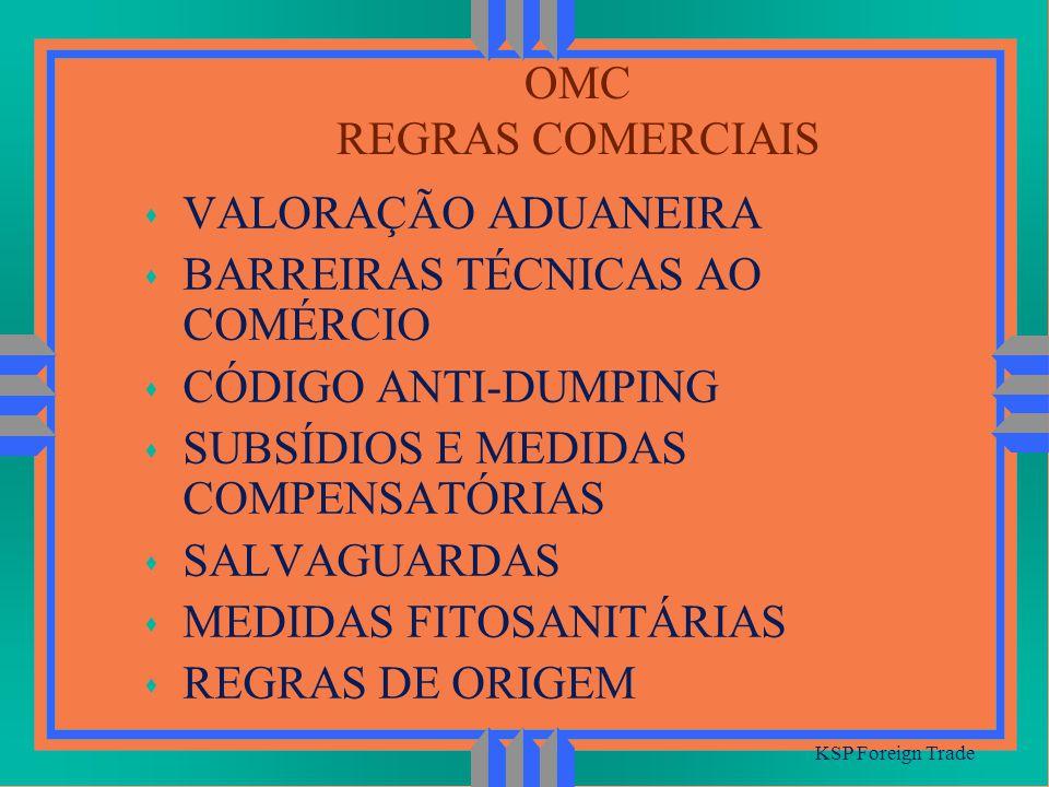 BARREIRAS TÉCNICAS AO COMÉRCIO CÓDIGO ANTI-DUMPING