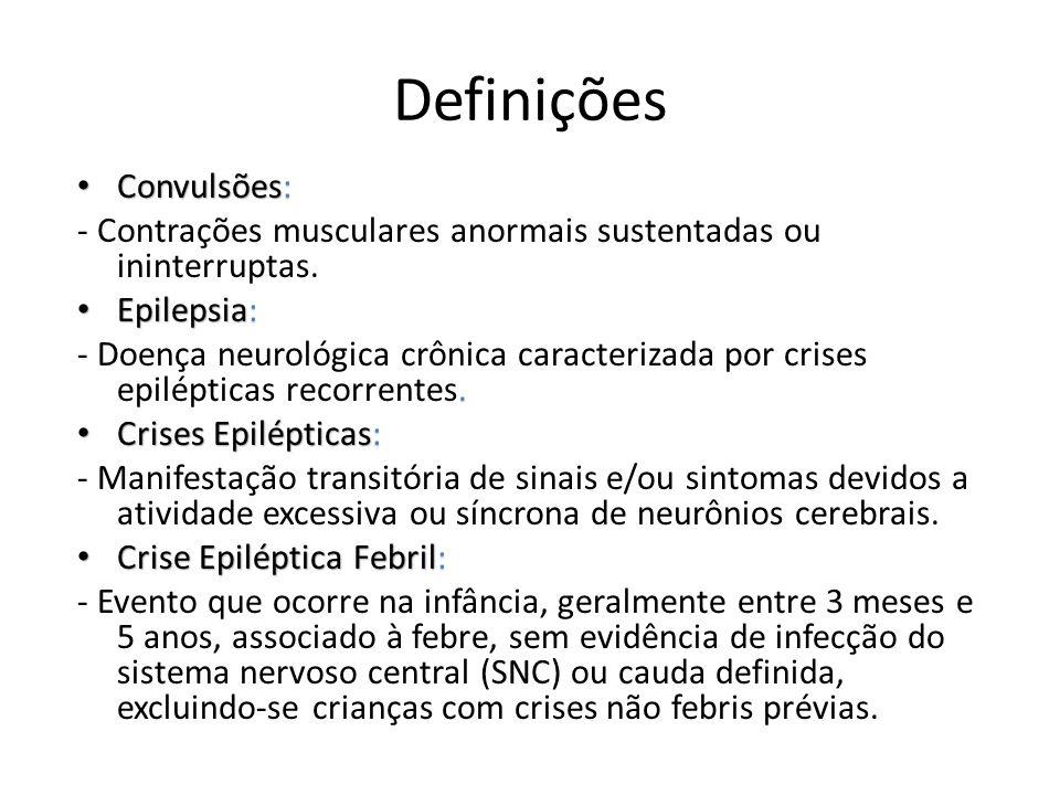 Definições Convulsões: