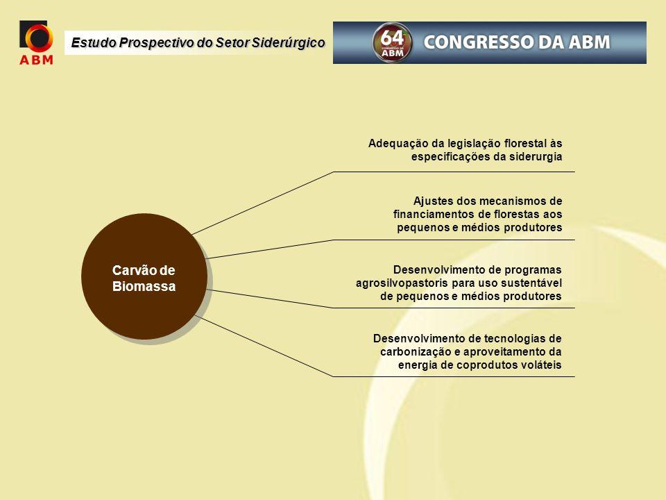 Adequação da legislação florestal às especificações da siderurgia