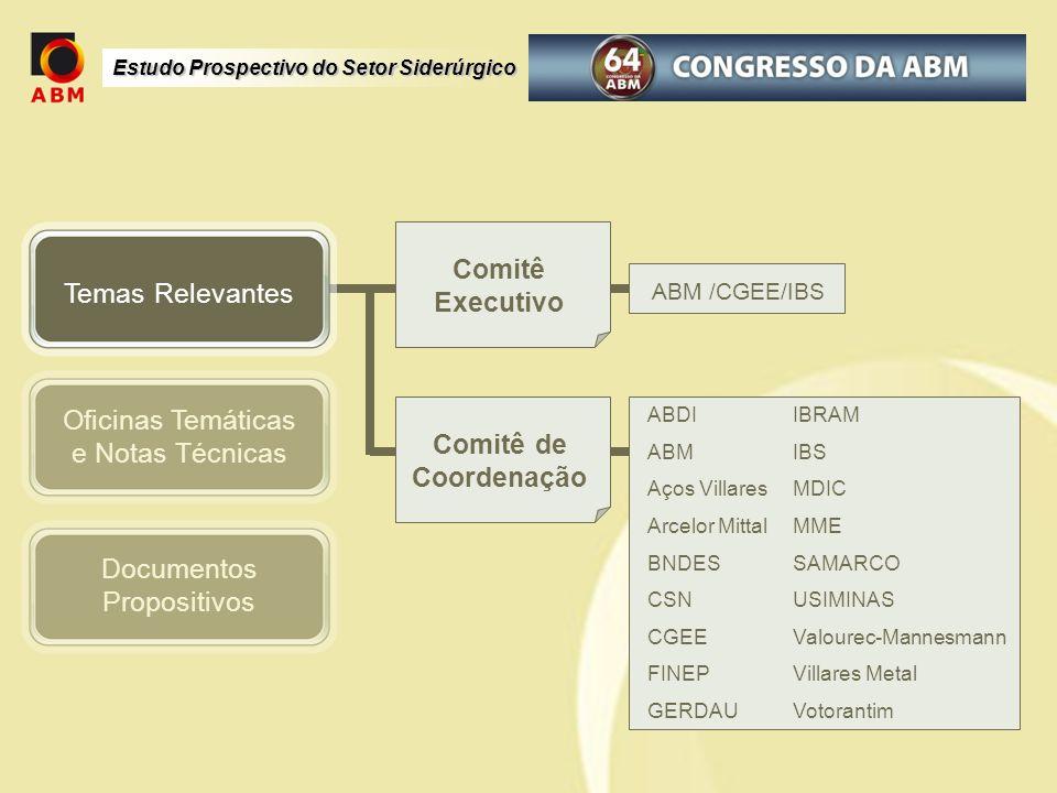 Comitê Executivo Comitê de Coordenação