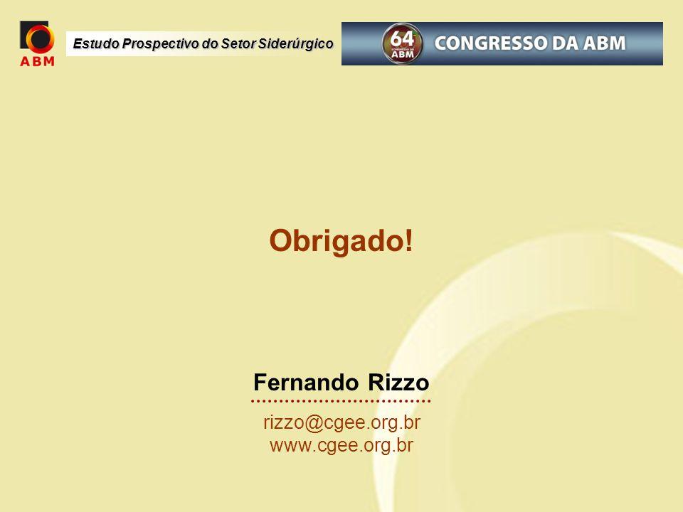 Obrigado! Fernando Rizzo